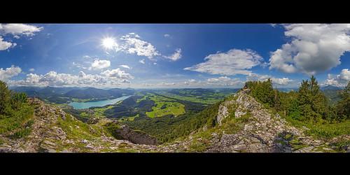 Frauenkopf 360° Panorama
