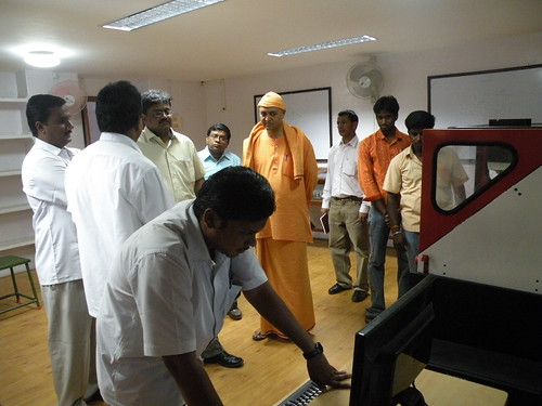 Visit of Tamilnadu Women Development Corporation, Managing Director - ITI - SRKV, Coimbatore