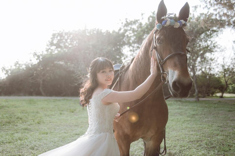台南自助婚紗 杜林紙草手工婚紗 浪漫又帥氣的駿馬婚紗 004
