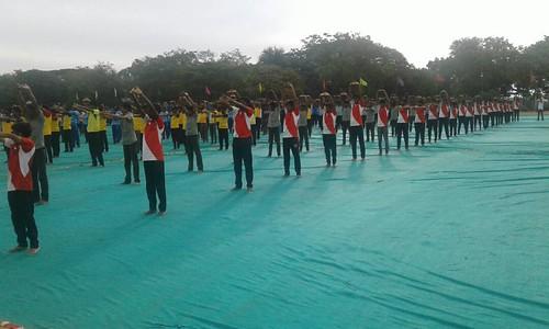 International Yoga Day – ITI – SRKV, Coimbatore