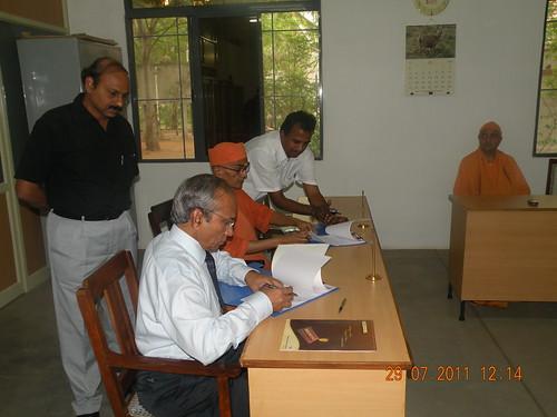 TATA Motors MOU - ITI - SRKV, Coimbatore