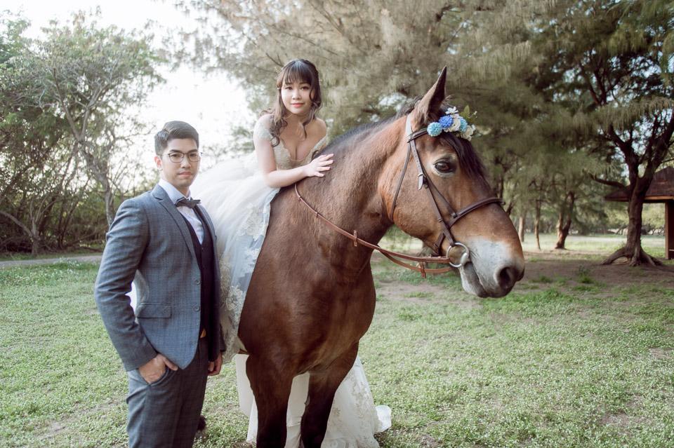 台南自助婚紗 杜林紙草手工婚紗 浪漫又帥氣的駿馬婚紗 012