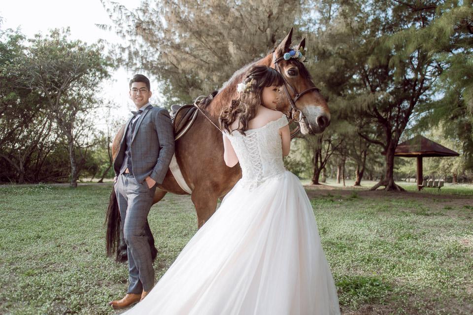 台南自助婚紗 杜林紙草手工婚紗 浪漫又帥氣的駿馬婚紗 006