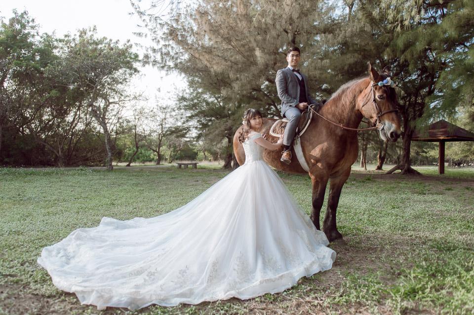 台南自助婚紗 杜林紙草手工婚紗 浪漫又帥氣的駿馬婚紗 008