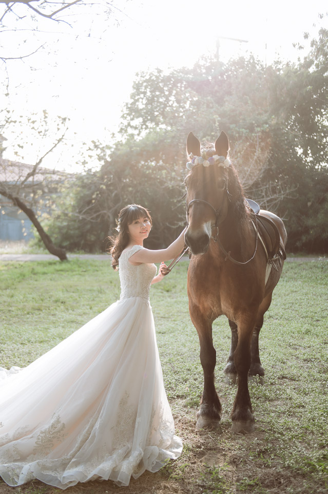 台南自助婚紗 杜林紙草手工婚紗 浪漫又帥氣的駿馬婚紗 005