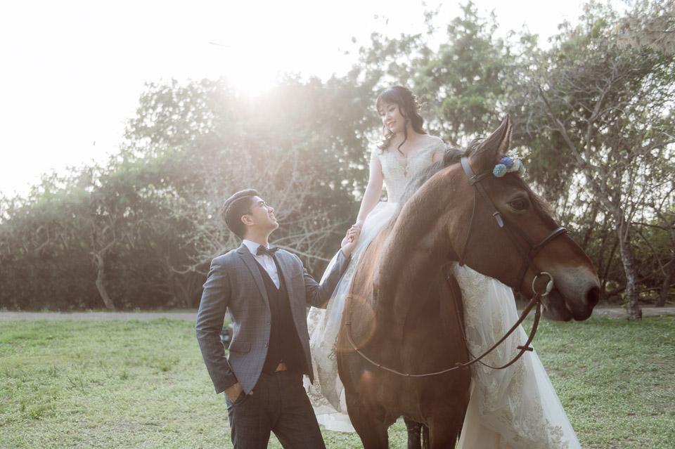 台南自助婚紗 杜林紙草手工婚紗 浪漫又帥氣的駿馬婚紗 001