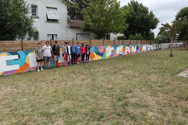 L'école Jean Moulin se redonne des couleurs