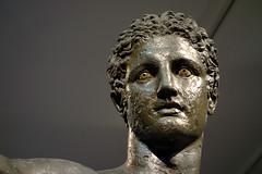 Antikythera Youth, head