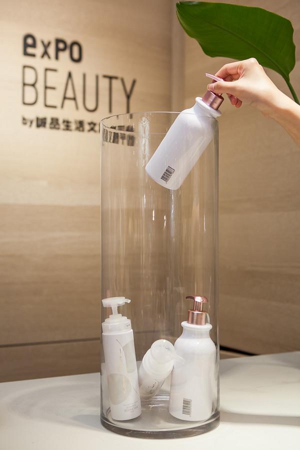 誠品生活expo BEAUTY|誠品生活expo持續發掘台灣之美,也期望取自土地、用於自然,更歡迎誠品人會員回收空瓶享折抵優惠。