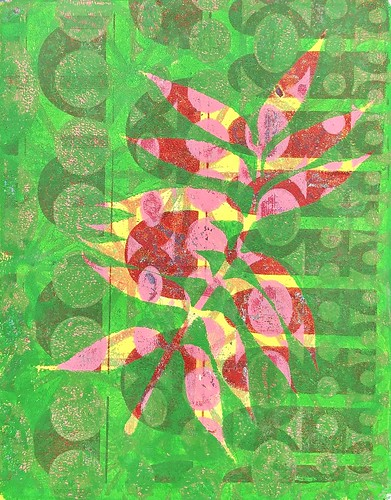 """Gelli Botanical Muxed Media Collages • <a style=""""font-size:0.8em;"""" href=""""http://www.flickr.com/photos/57802765@N07/50142207968/"""" target=""""_blank"""">View on Flickr</a>"""