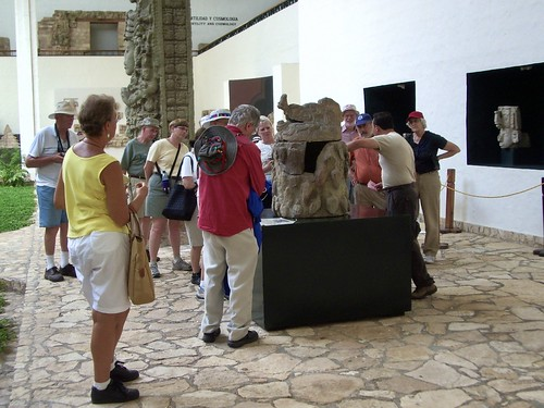 Visit to Museum of Maya Sculpture, Copan, Photo by Char