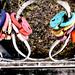 multi-colored locks