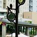 SEIKO セイコー Clock Sculpture in the Minami-Ikebukuro Park 南池袋公園, Toshima, Tokyo, Japan