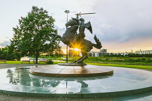 Freedom Warrior | Kaunas aerial