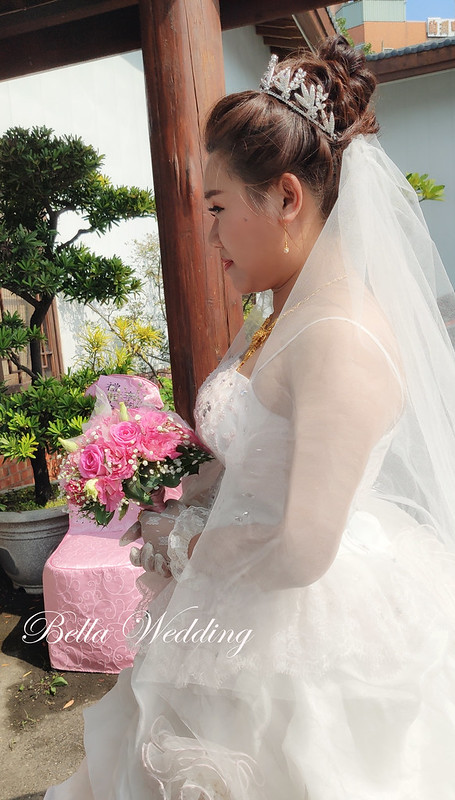 嘉義新秘,新秘,婚宴造型, 東園軒園林餐廳 ,皇品國際酒店 ,名媛精緻妝感,花苞頭迎娶造型 ,華麗公主風造型