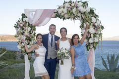 Dreamy summer wedding in Athens, Greece