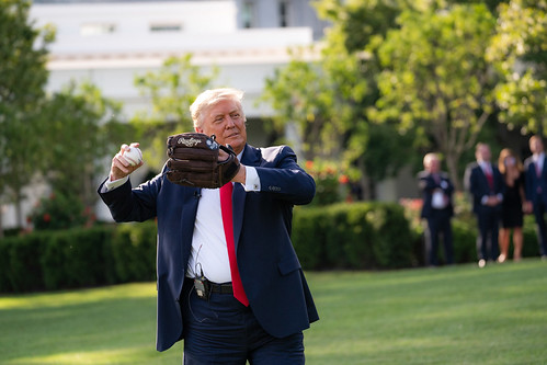 President Trump Hosts the Opening Day of by The White House, on Flickr