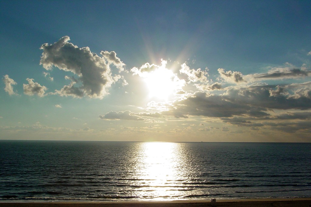 Sun over the Atlantic Ocean [02]