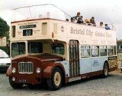 Photo of 841SHW  Bristol FLF6B Lodekka ECW O38_32F bus at Bideford Station 01 Aug 1999