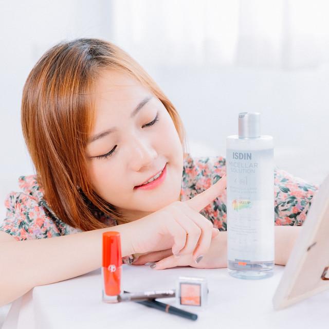 卸妝水推薦ISDIN四效合一卸妝潔膚水|卸妝同時是保養