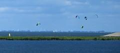 Kitesurfen bij Lelystad
