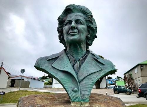 2020 - Falkland Islands - Thatcher Bronze