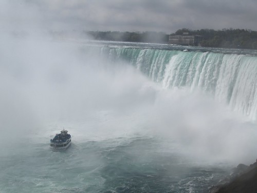 Horseshoe Falls:  Niagra River, Ontario, Canada
