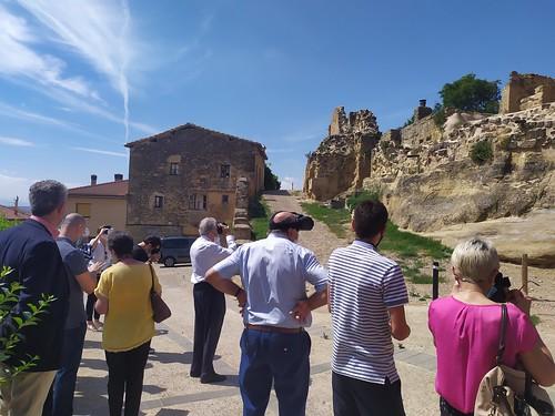 """Celebrado el acto de descubrimiento de la placa del Premio Hispania Nostra 2020 a la App para la reconstrucción virtual del Castillo de San Vicente de la Sonsierra • <a style=""""font-size:0.8em;"""" href=""""http://www.flickr.com/photos/141347218@N03/50158354226/"""" target=""""_blank"""">View on Flickr</a>"""
