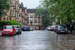 Photo of gray street