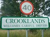 Crooklands Welcomes Careful Drivers