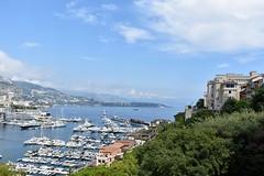 Vue du Rocher de Monaco