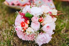Romantic Rose And Peonies Birthday Decor