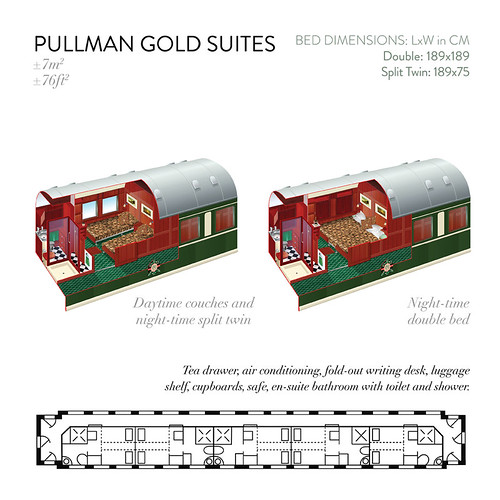 Rovos Pullman Gold Suites