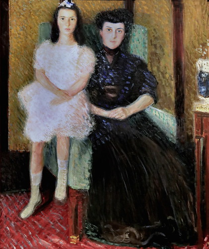 IMG_5474BB Richard Gerstl 1883-1908  Wien Mother and Daugther  1907 Wien Musée Léopold