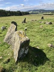 Photo of Eslie the Greater, Recumbent Stone Circle