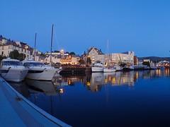 Ålesund city harbour, Norway