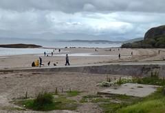 Photo of The Beach at Ganavan Bay.