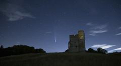 Photo of Comet Neowise at Donnington Castle, Newbury
