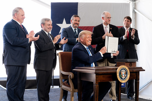 President Trump in Texas by The White House, on Flickr