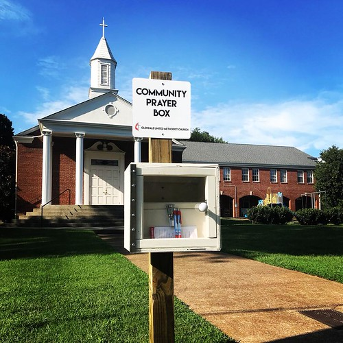 Community Prayer Box at Glendale United Methodist Church - Nashville