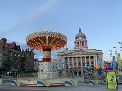 Photo of Merry-go-round at the Nottingham Old Market Square