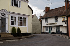 Photo of Wheatsheaf Inn 16th-century pub, Queen Street, Castle Hedingham Essex England