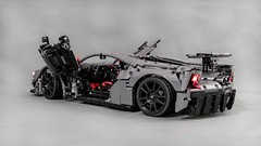 Recently @lego_tactics surprised me with a new addition to his Ford GT with brand new unbelievable rims by @technic.rims !!! This is perfectly completed his grey Ford GT livery perfectly 👌👌 I have no words... next level