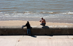 Photo of Ar yr ymyl / On the edge - Blackpool