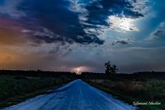 L'orage au bout de la route