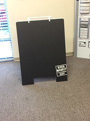 PVC A-Frame - Chalk Board (River Market)