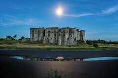 Photo of Carew by Moonlight