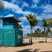 Lifeguard tower, Townsville, Australia.