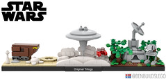LEGO Star Wars: Original Trilogy skyline