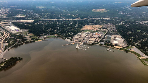 National Harbor from above